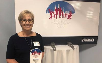 Lori Perkins Receives Touching Lives Award