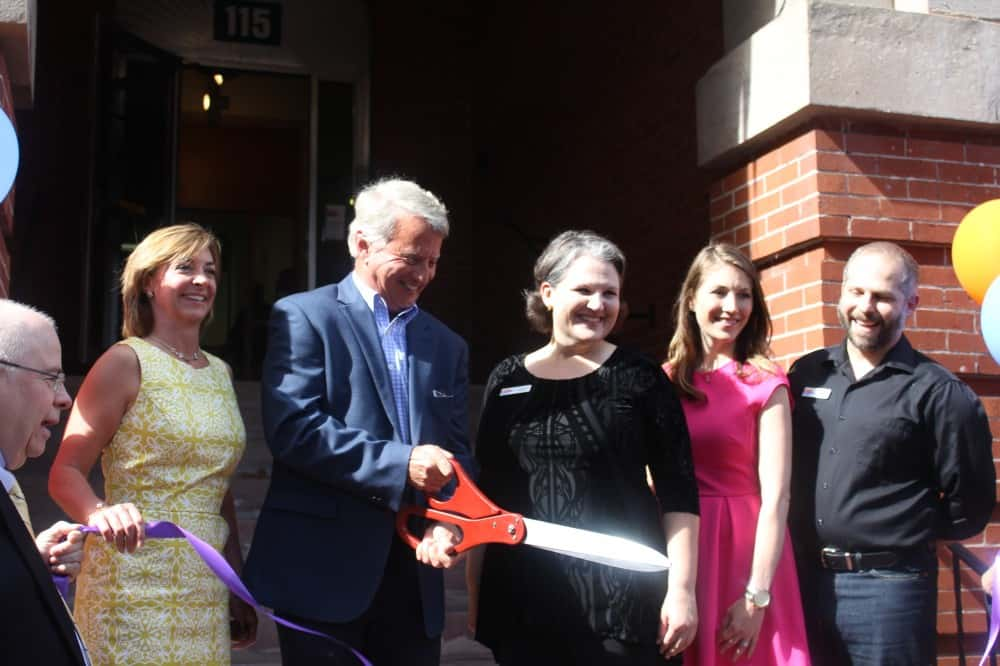 AFF Trustees Cut Ribbon at New Spire Spaces