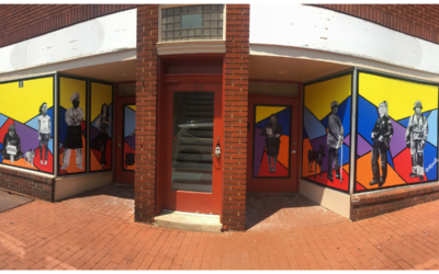 Temporary Mural Project in Downtown Frederick