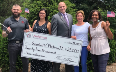 Goodwill & Platoon 22 Receive Funding For Veterans Services Program