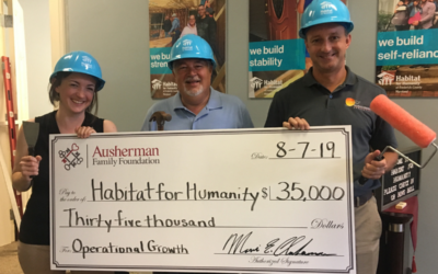 Habitat for Humanity Receives Funding for Operational Growth
