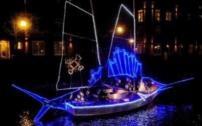 'Sailing Through The Winter Solstice' Boats Revealed on Carroll Creek