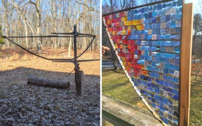 Kinetic Art Sculptures in Carroll Creek