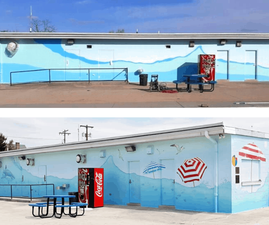 Emmitsburg Pool – Before and After