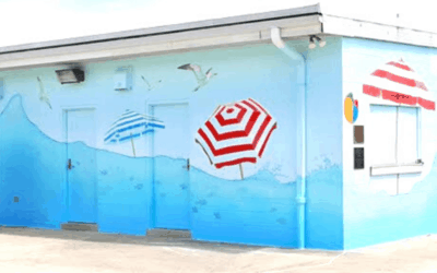 Emmitsburg Pool Mural Completed