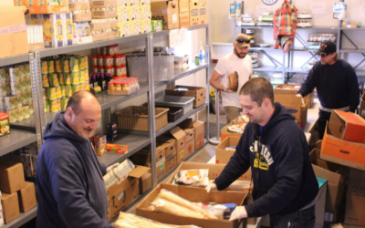 Food Coordination with Frederick Rescue Mission