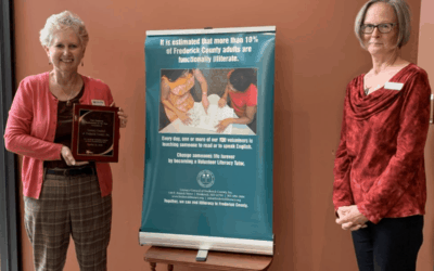 Literacy Council Receives Ambassador of the Year Award