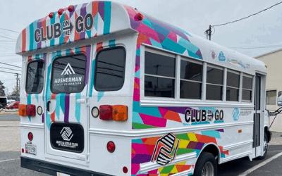 """Boys & Girls Club of Frederick County """"Club on the Go"""" Bus"""