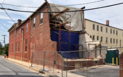 115/117 E. Church St. Drive Aisle Expansion Underway