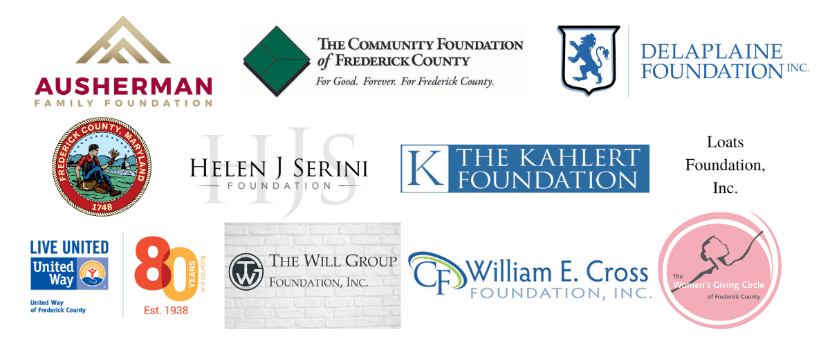 Logos of Frederick Funders Data Project 1200×500 (1)